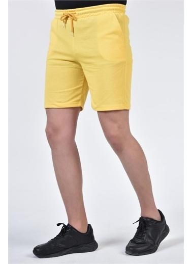 Rodi Jeans Erkek Renkli Basic Şort TY21YE140150 Sarı